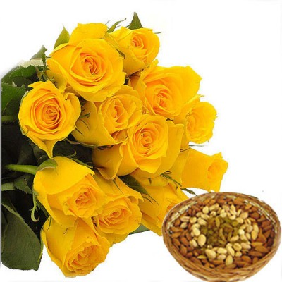 Send flowers to india send yellow roses to india flowers delivery yellow flowers to india mightylinksfo