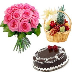 Send Online Flowers and Cakes to India