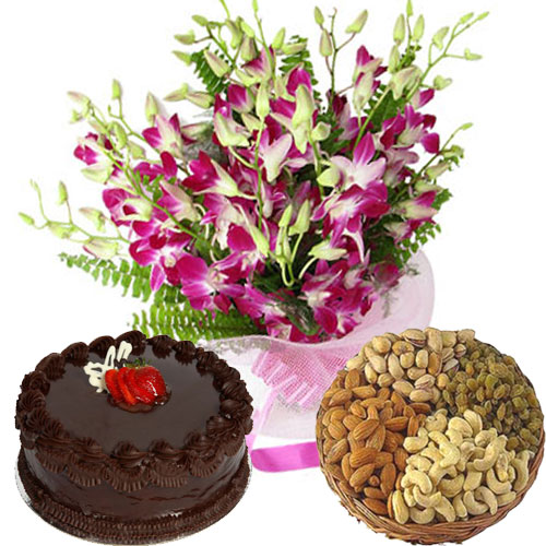 Deliver Online Flowers and Cakes to India