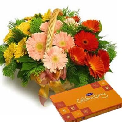 Anniversary Flowers to India