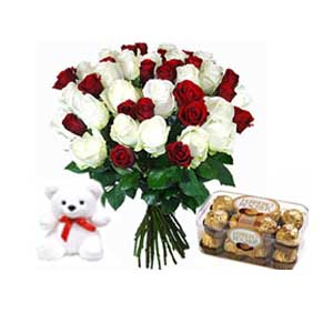 Flowers and Chocolates to India