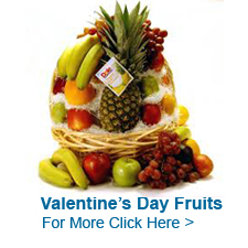 Valentine's Day Fruits to India
