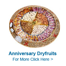 Anniversary Dry Fruits to India