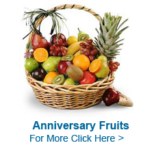 Anniversary Fruits to India