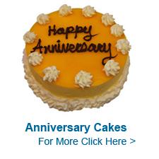 Anniversary Cakes to India