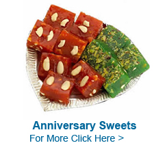 Anniversary Sweets to India