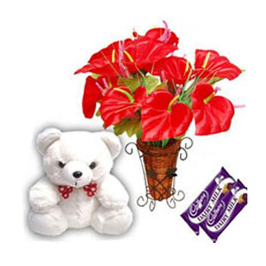 Deliver Anthuriums Flowers to India