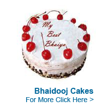 Bhaidooj Cakes For to India