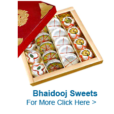 Bhaidooj Sweets to India
