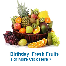 Fruits For Birthday to India