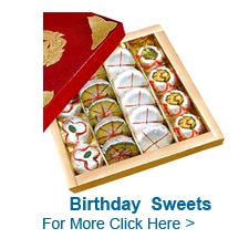Sweets For Birthday to India
