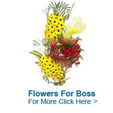 Flowers For Boss to India