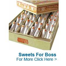 Sweets For Boss to India