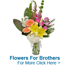Flowers For Brother to India