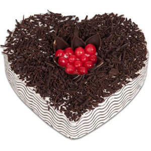 Send Heart Shape Cakes to India