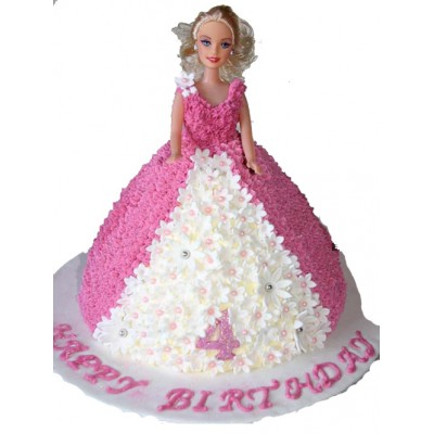 Barbie Doll Cakes to Ahmedabad