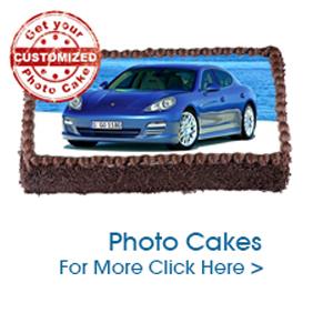 Photo Cake to India
