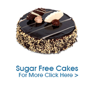 Sugarfree cakes to India