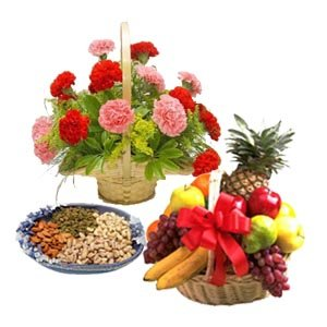 Place Order for Holi Flowers to India