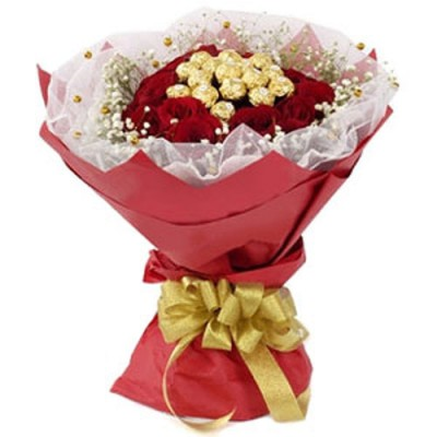 Send Chocolates and Flowers to India