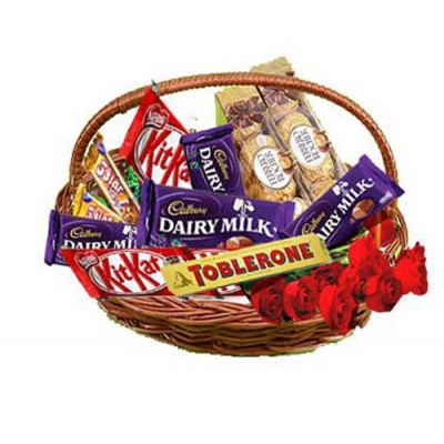 Order for Chocolates to India