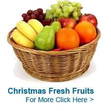 Christmas Fruits to India