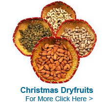 Christmas Dry Fruits to India