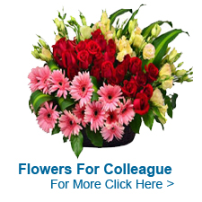 Flowers For Colleague to India