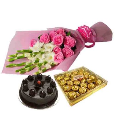 Online Chocolates and Flowers to India