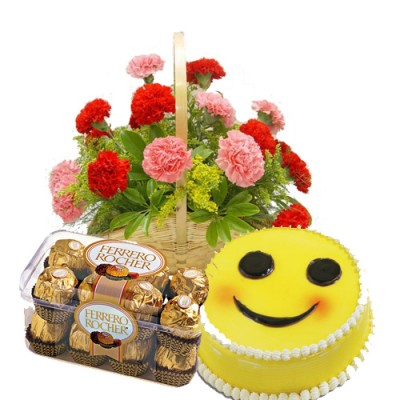 Cakes and Flowers to Ahmedabad