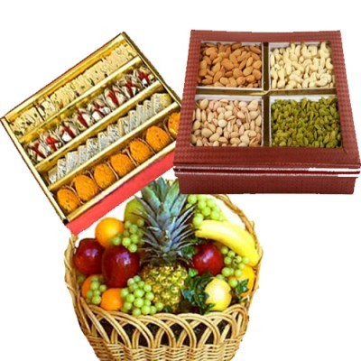 Mixed Dry Fruits to India