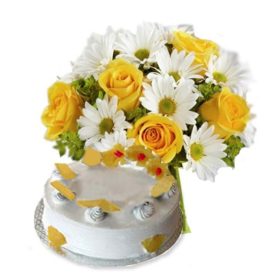 Flowers and Cakes to Ahmednagar