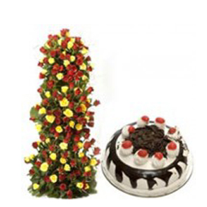 Send Flowers and Cakes to Noida