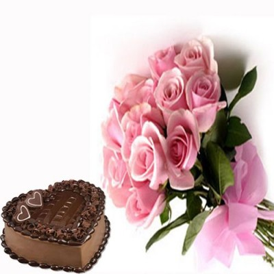 Send Roses and Cakes to India