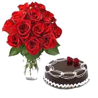 Online Cake and Flowers to Goa