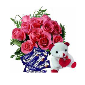 Place Order for Flowers n Gifts to India