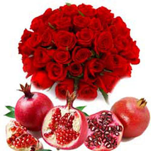 Online Flowers and Fruits to India