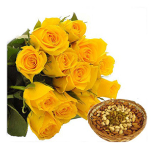 Buy Online Flowers and Dryfruits to India