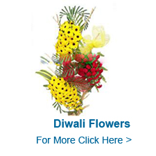 Diwali Flowers to India