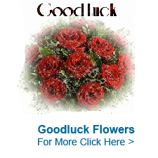 Good Luck Flowers to India