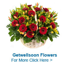 Get Well Soon Flowers to India