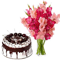 Cake and Flowers to India