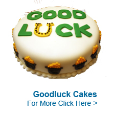 Good Luck Cakes to India