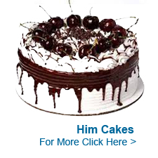 Cakes for Him to India
