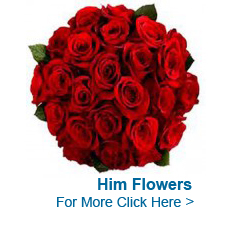 Flowers for Him to India