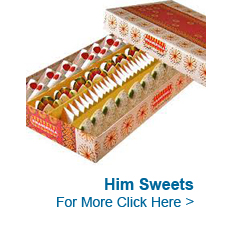 Sweets for Him to India