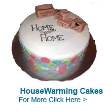 Housewarming Cakes to India