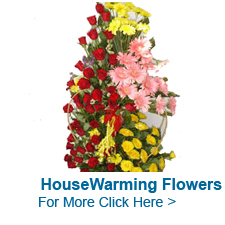 Housewarming Flowers to India