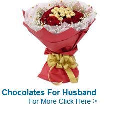 Chocolates for Husband to India