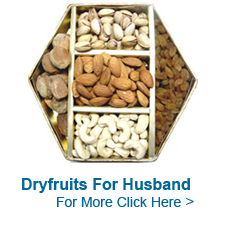 Dry Fruits for Husband to India